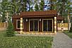 Проект дома, Дом хай-тек шоколад 110м2, фото 2