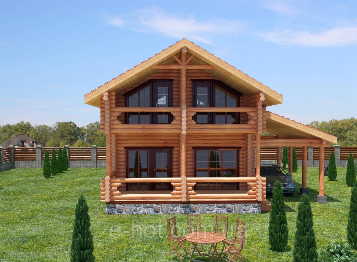 Проекты домов, Дом Калиновка 115м2