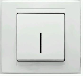 Выключатель с подсветкой GUNSAN cерия MODERNA