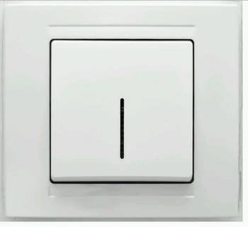 Выключатель с подсветкой GUNSAN cерия MODERNA , фото 2
