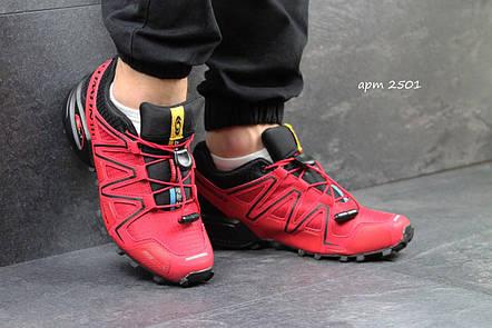 Кроссовки мужские Solomon Speedcross 3 красные 40,41р, фото 2