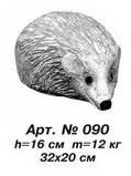 Фигуры животных «Еж» Н=16 см
