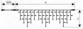 """Светодиодная гирлянда внешняя Delux """"Icicle""""  90LED 2x0.5м син/черн IP44 Код.57263, фото 2"""