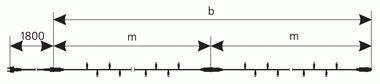 """Светодиодная гирлянда внешняя Delux """"String""""  200LED 10м син/черн IP44 Код.57260, фото 2"""