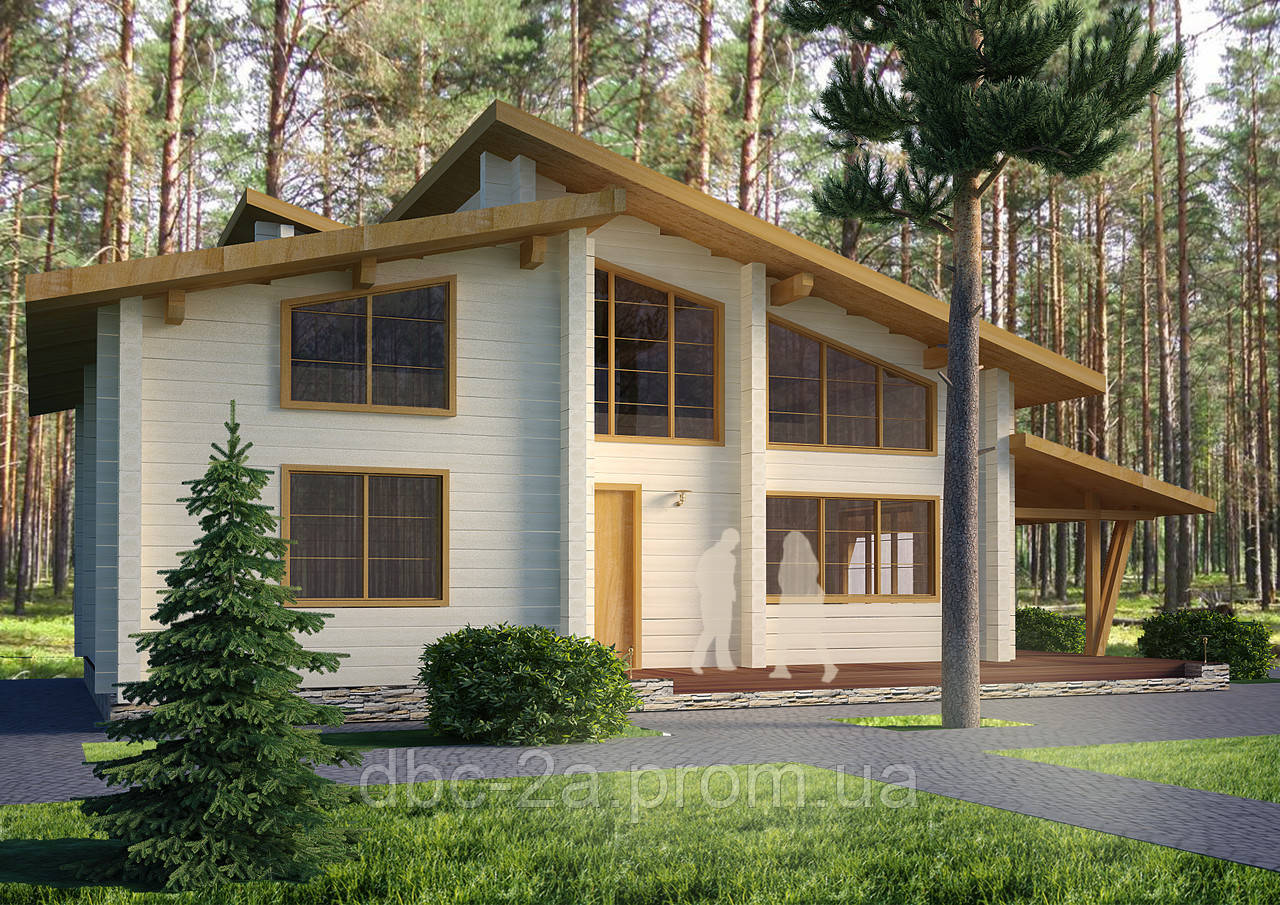 Проекты домов, Дом Михаил 170м2