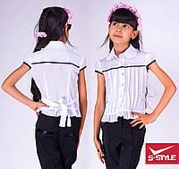 """Нарядная блузка для девочки """"Рюшик"""""""