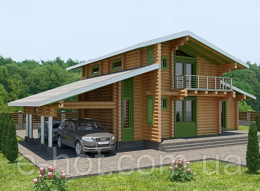 Проект дома, Дом хай-тек 200м2