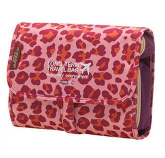 Розовый леопард цвет косметички
