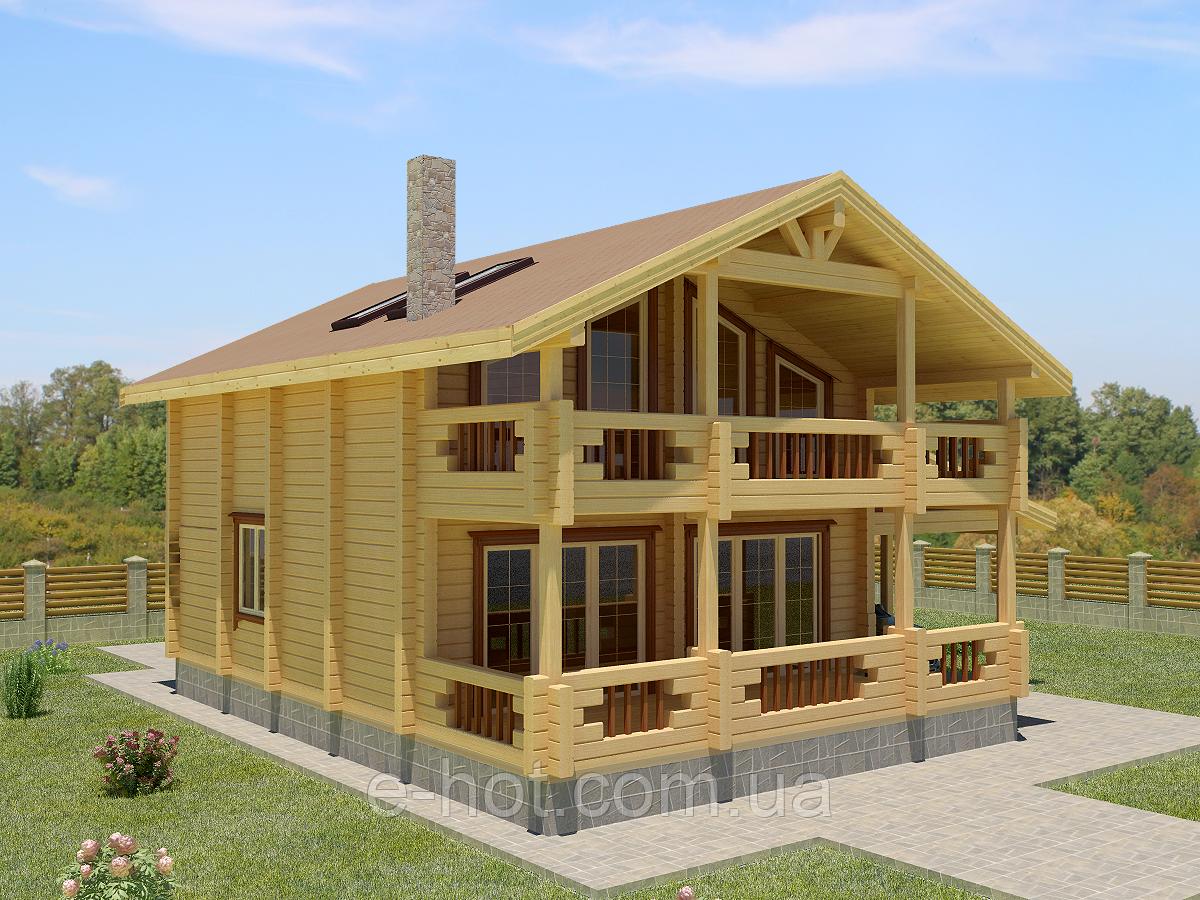 Проекты домов, Дом Козимир 210м2