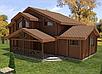 Проект дома, Дом Игорь Осокорки 218м2, фото 2