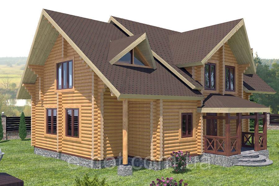 Проекты домов, Дом Севастополь 224м2