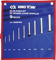 Набор выколоток 2-14мм 9 пр. King Tony 1009PRN