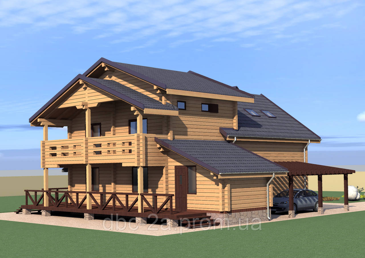 Проект дома, Дом Катя 227,5м2