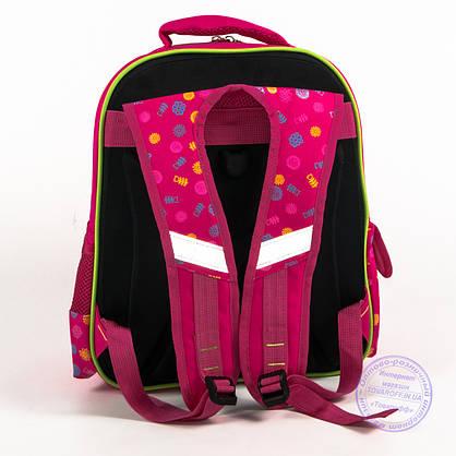 Школьный рюкзак для девочки с жесткой спинкой - розовый - 170, фото 3