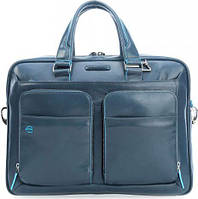 Кожаный портфель Piquadro CA2849B2_AV3 синий