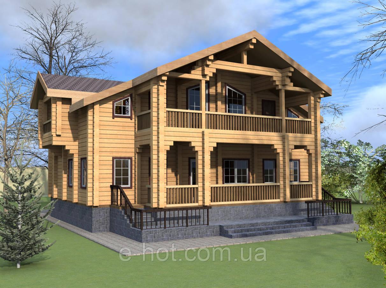 Проекты домов, Дом Таценки 230м2