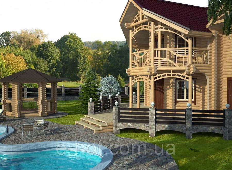 Проект дома, Дом Глеваха 250м2