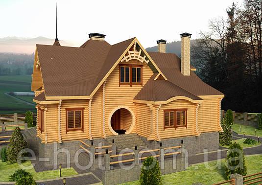 Проекты домов, Дом Сказка 250м2