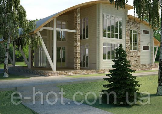 Проект дома, Дом хай-тек 250м2