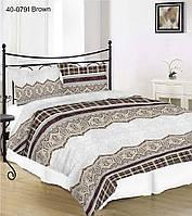 Двойной комплект постельного белья 20-1129 BROWN