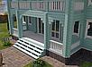 Проект дома, Дом отдыха Бирюза 260м2, фото 4