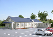 Проекты домов, Дом Молитвенный 300м2
