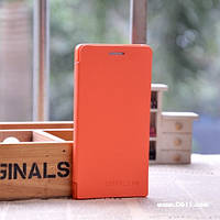 Чехол NoBrand Fresh Series для Huawei Ascend P6 orange