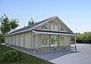 Проекты домов, Дом Молитвенный 300м2, фото 4