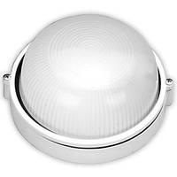 Светильник настенный RIGHT HAUSEN HN-112030 круг 100W без реш. белый