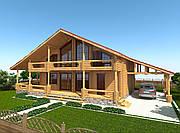 Проект дома, Дом Осокорки 332м2