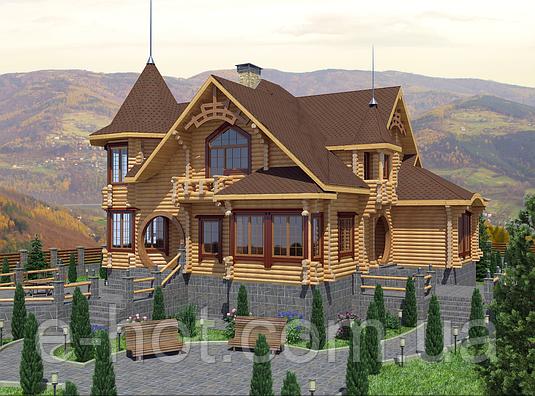 Проект дома, Дом Сказка 360м2