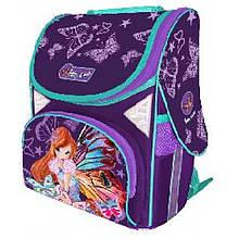"""Портфель CLASS 9701 2відділення """"Fairy Viola"""" 34*26*14см"""