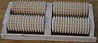 Масажор дерев`яний для сауни і бані - подвійний .