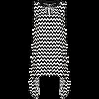 Фаберлик Платье с геометрическим рисунком, цвет черно-белый серии Summer fest