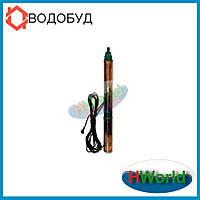 90 м 90 мм 1100 Вт 100QJD2-90/16-1.1 H.World погружной насос для скважины, глубинный, центробежный