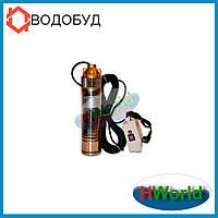 60 м 100 мм 750 Вт 4SKM-100 H.World погружной насос для скважины, глубинный, центробежный, вихревой