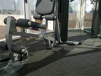 Резиновое напольное покрытие для тренажерного зала