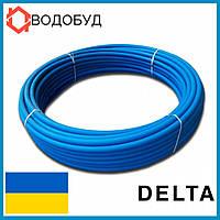 Труба полиэтиленовая Delta синяя питьевая D40*2,0 PN6