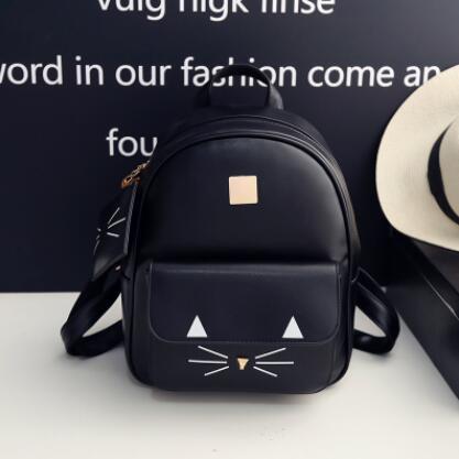 da9972b4e9a8 Городской женский рюкзак черный с кошельком - Интернет-магазин оригинальных  кепок, рюкзаков и аксессуаров