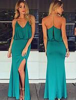 Макси платья  Зелений