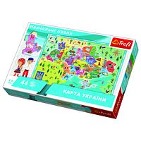 Пазл Trefl Карта Украины 44 элементов (TFL-15532)