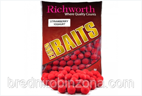 "Бойлы Richworth Euro Baits ""STRAWBERRY YOGHURT""(клубничный йогурт)"