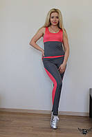 Женский спортивный костюм двоечка для фитнеса