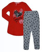Комплект 2 в 1 для девочек оптом, Sincere, 4-12 лет,  № СJ-1712, фото 1