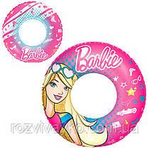 Круг надувной детский Барби Bestway 93202