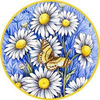 Бабочки ассорти 32  Вафельная картинка