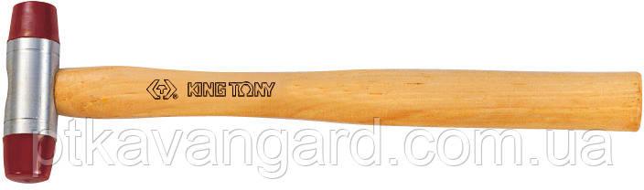 Молоток рихтовочный 344 гр. (мягкий боек) King Tony 7842-35