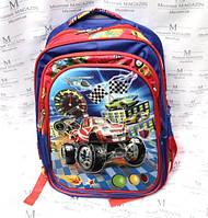 Рюкзак школьный с машинками HF-1601 для мальчика