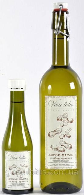 Арахисовое масло Viva l'olio, 250мл, холодный отжим