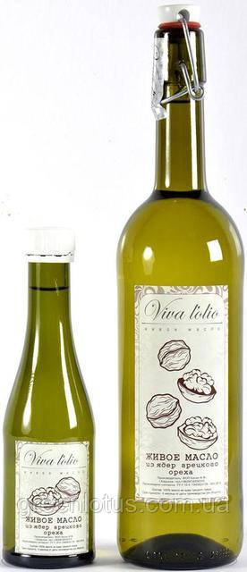 Масло грецкого ореха Viva l'olio, 250мл, холодный отжим